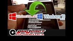 Como voltar Windows 10 mobile para Windows phone 8.1 (Rom/Firmware de Fá...
