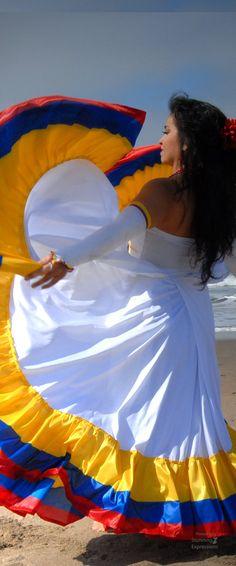 Colombian Beach dancer