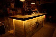 Building Reclaimed Wood Bar | Reclaimed Rustics