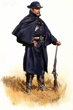 United States Civil War, Mounted Rifle Rangers- 3rd Massachusetts Cavalry 1862