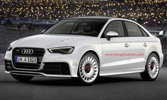 2014 Audi RS 3 Limousine (Rendering) #audirs3