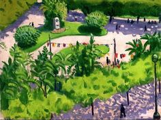 The Square with Flags, Algiers Albert Marquet - 1944-1945