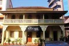 The quaint Black Sheep Bistro, What's Up Goa