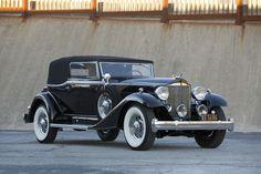 1933 Packard Super Eight Convertible Victoria (1004-667)