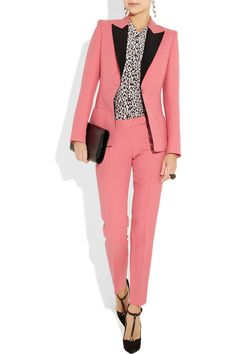 Bubblegum Pink workwear? not bad...lurv it! more deets at http://www.net-a-porter.com/product/183016