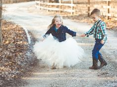 Brown and Teal Country-Inspired Ring Bearer
