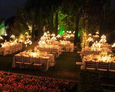 Decoración banquete de boda - TELVA