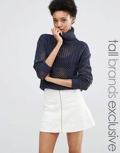 Noisy May Tall | Noisy May Tall Roll Neck Sweater