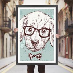 Placa decorativa dog - StickDecor | Decoração Criativa