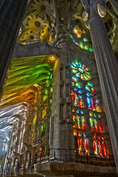 The sagrada familia is the most beautiful building I've ever visited and I so want to go again because they're still building it and its just amazing.