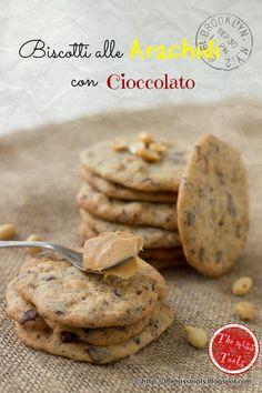 The miss Tools: Peanut butter Chocolate  Cookies. Biscotti al burro di arachidi con cioccolato.