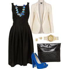 royal blue shoes idea