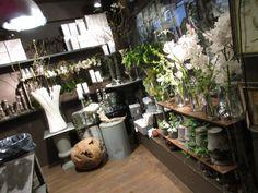 Innsiden av butikken