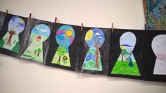 I will consider the keyhole for the spring Classroom Art Projects, School Art Projects, Art Classroom, Art Activities For Kids, Art For Kids, Elementary Art Lesson Plans, Art Education Resources, Spring Crafts For Kids, Spring Art