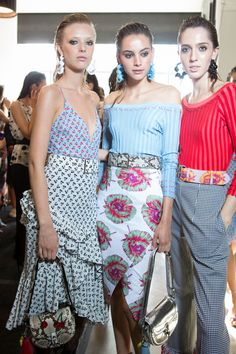 Altuzarra at New York Fashion Week Spring 2017 - Backstage Runway Photos