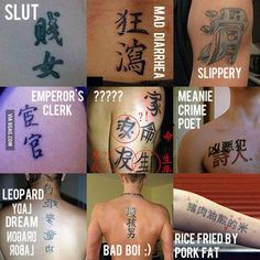 Chinese tattoos gone wrong - 9GAG