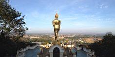 view of Nan from Pratad Khao Noi