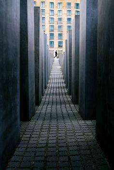 Monumento ao Holocausto, Berlin.