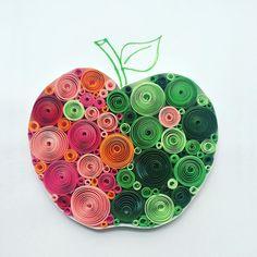 quilling apple