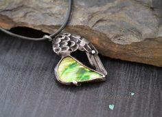 Andělské srdéčko - zelené