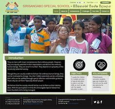 Website Launched - Sirisangabo Special School at Pasyala Sri Lanka. http://ift.tt/1OugGr1          They are born with lesser completeness than  ordinary people. However they are equally potential in their expectations and  desires like ordinary human beings. They are small in number. They depend on  sympathy of the practically potential society.      Though they are usually unable to behave  like ordinary human beings they can be motivated to change. Yes their hidden  potentials can be…