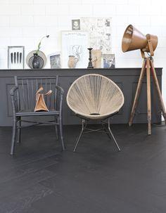 Floor Black Forest #vtwonen #magazine #interior #collection #floors #black
