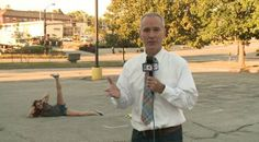 Hawkeye Fan Videobombs Keith Murphy's Live Report Paragon Monday Morning LinkFest