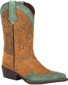Durango Kids Adolescent Raindrop Western Boot