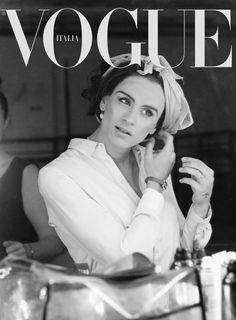 Georgia Rose for Vogue Italia 2013 cover