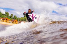 Kalani Robb surfing the Surf Snowdonia Wavegarden Surf Lagoon   Surf Park Central