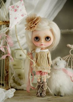 Mori girl meets Shabby Chic by Ragazza*, via Flickr