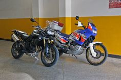 Tiger & Africa Twin | Flickr - Photo Sharing!