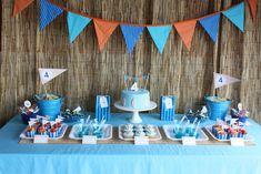 Surf birthday party