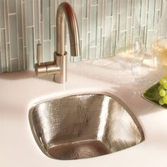 Simple and elegant, the Rincon Bar sink is a coveted addition to any bar. http://www.ybath.com/native-trails-rincon-bar-sink.html