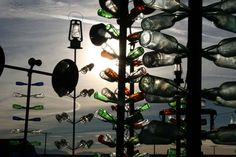 images of bottle trees Route 66 Usa, Route 66 Road Trip, Us Road Trip, Beautiful Places To Visit, Places To See, Road Trippin, Usa Travel, Travel Around The World, Trip Planning