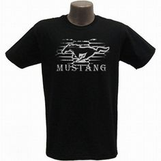 Ford Mustang Modern Grille Adult T-Shirt in Black.  Ford Mustang Modern Grille on the front of the 100% cotton pre-shrunk tee shirt.  The perfect item for any Ford fan!  Click on the picture for more information about this t-shirt!