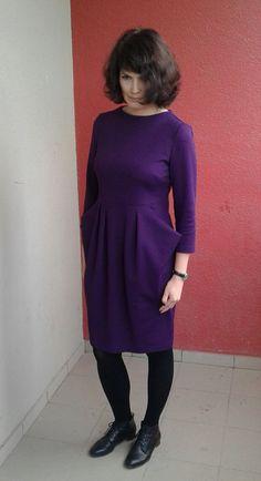 Платье с большими карманами / Фотофорум / Burdastyle