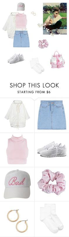 """""""Hanging out at the park with Seungcheol"""" by vvangoth ❤ liked on Polyvore featuring Monki, Reebok, American Apparel, Nordstrom, Hue, date, kpop, seventeen and scoups"""