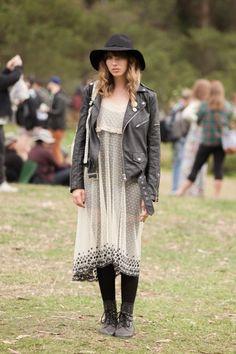 Festival Fashion At Outside Lands