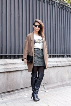 Over The Knee Boots | Collage Vintage