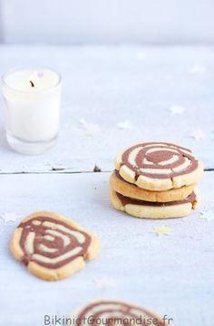 Des sablés escargots vanille chocolat avec une pointe de Rhum. Parfait pour le goûter des enfants ou avec un petit café pour les plus grands.