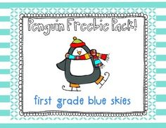 This has a directed drawing, writing pages class graph, informational pages about penguins, graphic organizers, labeling page, and more!  Hope you love it!!