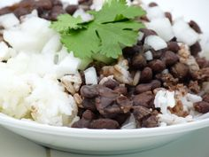 Columbia Restaurant's recipe for black beans and rice