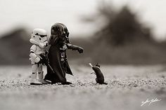 Cute side of the Darkside by ZahirBatin on deviantART Star Wars Toys, Star Wars Art, Lego Star Wars, Lego Stormtrooper, Legos, Jouet Star Wars, Aniversario Star Wars, Lego Pictures, Lego Design