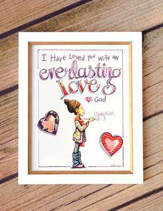Everlasting Love Fine Art Print 8x10 by PenelopeInMyPocket
