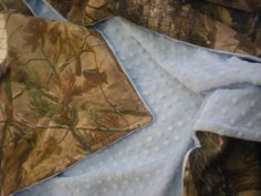 Real Tree OR Mossy Oak   Camo Blanket with  by swirlybirdboutique, $42.00