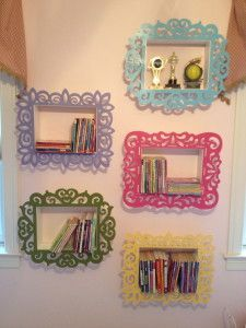 goodness. gracious. living - DIY shadow box book shelves for a girl's room