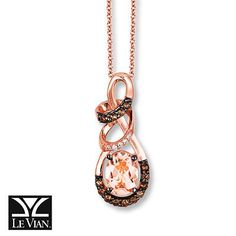 Be a trendsetter this fall with LeVian Peach Morganite – LeVian's 2016 Gem of the Year.
