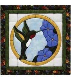 """Hummingbird Quilt Magic Kit-12""""X12"""""""