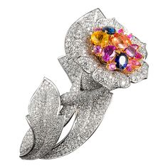 David Morris Pin | From a unique collection of vintage brooches at http://www.1stdibs.com/jewelry/brooches/brooches/